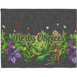 Herbs & Spices Placemat (Fabric) (Personalized)