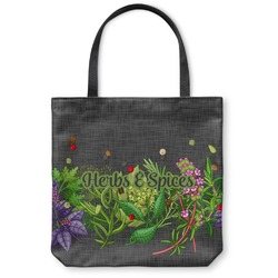 Herbs & Spices Canvas Tote Bag (Personalized)