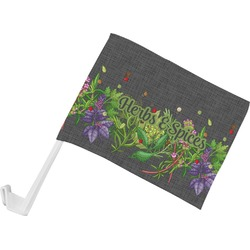 Herbs & Spices Car Flag (Personalized)