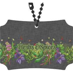 Herbs & Spices Rear View Mirror Ornament (Personalized)