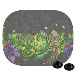 Herbs & Spices Car Side Window Sun Shade (Personalized)