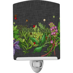 Herbs & Spices Ceramic Night Light (Personalized)