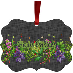 Herbs & Spices Ornament (Personalized)