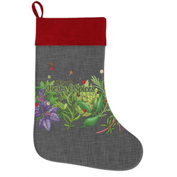 Herbs & Spices Holiday / Christmas Stocking (Personalized)