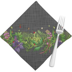 Herbs & Spices Cloth Napkins (Set of 4) (Personalized)