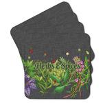 Herbs & Spices Cork Coaster - Set of 4