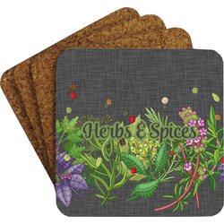 Herbs & Spices Coaster Set (Personalized)
