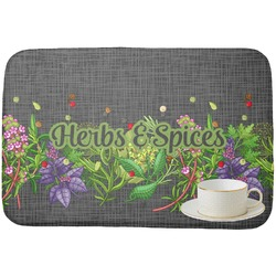 Herbs & Spices Dish Drying Mat (Personalized)
