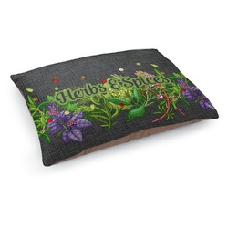 Herbs & Spices Dog Pillow Bed (Personalized)
