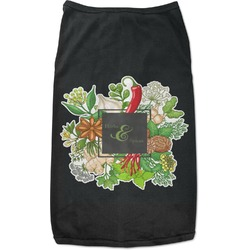 Herbs & Spices Black Pet Shirt (Personalized)