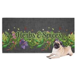 Herbs & Spices Pet Towel (Personalized)
