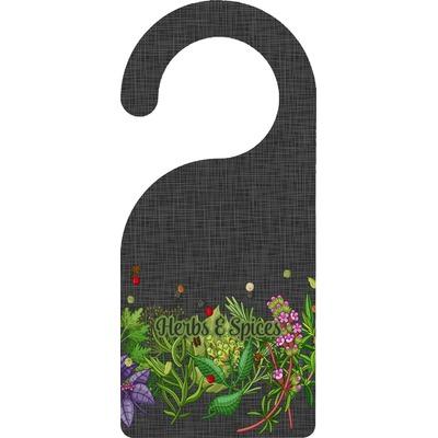 Herbs & Spices Door Hanger (Personalized)