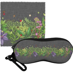 Herbs & Spices Eyeglass Case & Cloth (Personalized)