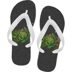 Herbs & Spices Flip Flops (Personalized)