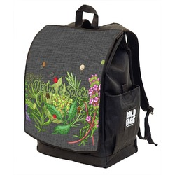 Herbs & Spices Backpack w/ Front Flap  (Personalized)