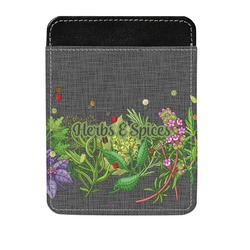 Herbs & Spices Genuine Leather Money Clip (Personalized)