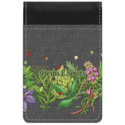 Herbs & Spices Genuine Leather Small Memo Pad (Personalized)