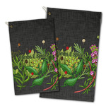 Herbs & Spices Golf Towel - Full Print