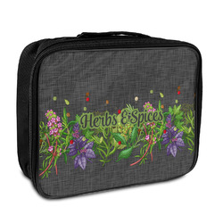 Herbs & Spices Insulated Lunch Bag (Personalized)
