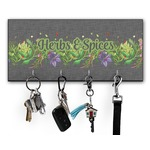 Herbs & Spices Key Hanger w/ 4 Hooks (Personalized)