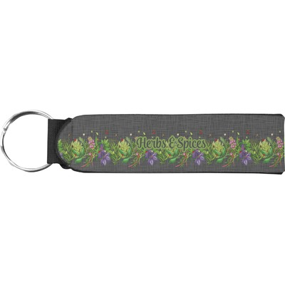 Herbs & Spices Neoprene Keychain Fob (Personalized)