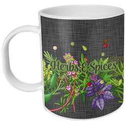 Herbs & Spices Plastic Kids Mug (Personalized)