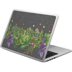 Herbs & Spices Laptop Skin - Custom Sized (Personalized)