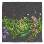 Herbs & Spices Large Microfiber Dish Rag