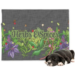 Herbs & Spices Dog Blanket (Personalized)