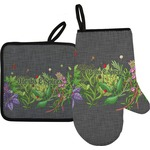 Herbs & Spices Oven Mitt & Pot Holder (Personalized)