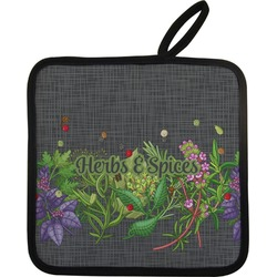 Herbs & Spices Pot Holder (Personalized)