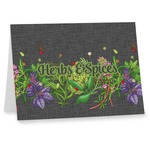 Herbs & Spices Note cards (Personalized)