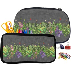 Herbs & Spices Pencil / School Supplies Bag (Personalized)