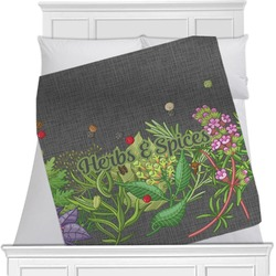 Herbs & Spices Blanket (Personalized)
