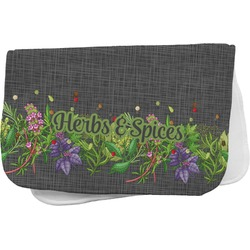 Herbs & Spices Burp Cloth (Personalized)