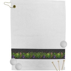 Herbs & Spices Golf Towel (Personalized)