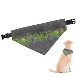 Herbs & Spices Dog Bandana (Personalized)