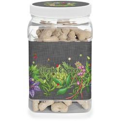 Herbs & Spices Pet Treat Jar (Personalized)