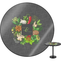 Herbs & Spices Round Table (Personalized)
