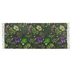 Herbs & Spices Faux Pashmina Scarf (Personalized)