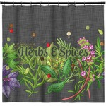 Herbs & Spices Shower Curtain (Personalized)