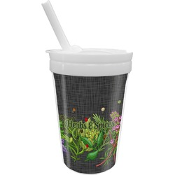 Herbs & Spices Sippy Cup with Straw (Personalized)
