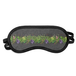 Herbs & Spices Sleeping Eye Mask (Personalized)