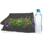 Herbs & Spices Sports & Fitness Towel (Personalized)