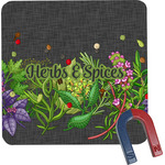 Herbs & Spices Square Fridge Magnet (Personalized)