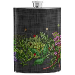 Herbs & Spices Stainless Steel Flask (Personalized)
