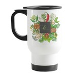 Herbs & Spices Stainless Steel Travel Mug with Handle