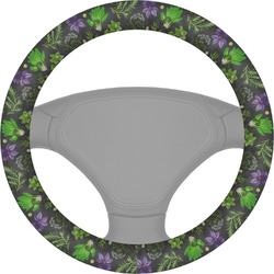 Herbs & Spices Steering Wheel Cover (Personalized)