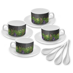 Herbs & Spices Tea Cup - Set of 4 (Personalized)