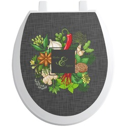 Herbs & Spices Toilet Seat Decal (Personalized)